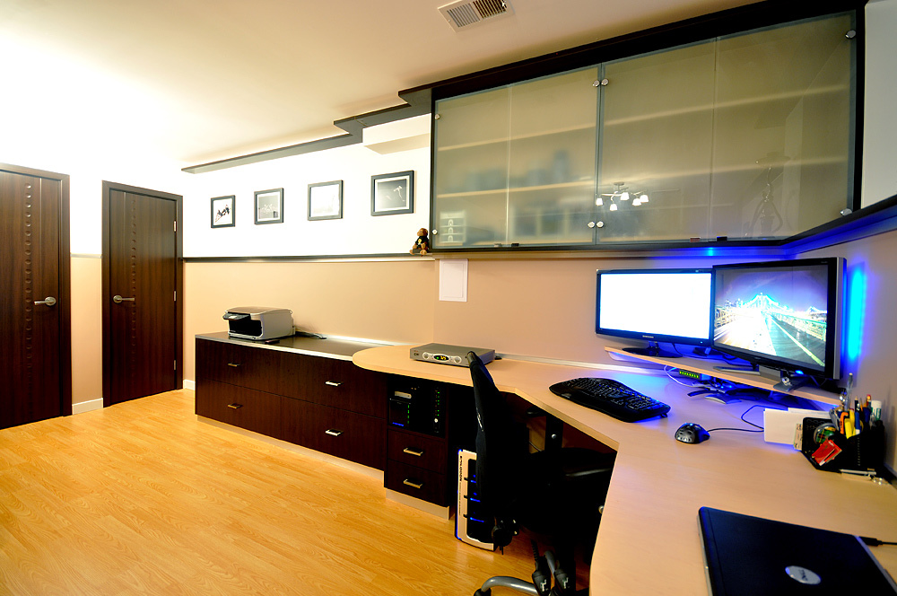 The completed workplace